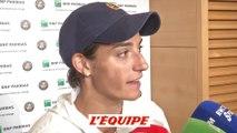 Garcia «A Roland-Garros, on est habité» - Tennis - Roland-Garros