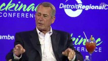 Boehner Suggests Melania Trump Looks Unhappy Because Her Husband Promised Her He Wouldn't Win