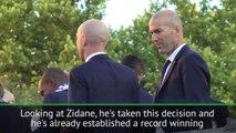 I'm sure Zidane has his reasons - Mancini