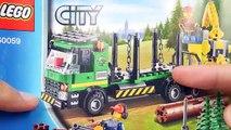 Lego City 60059 Logging Truck - Lego Speed Build - video
