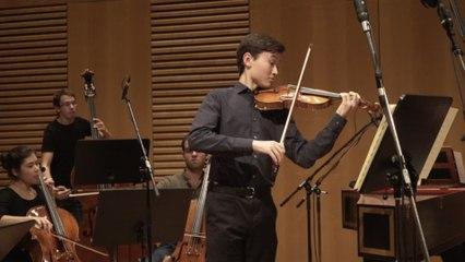 Daniel Lozakovich - J.S. Bach: Violin Concerto No. 1 in A Minor, BWV 1041, 1. Allegro moderato