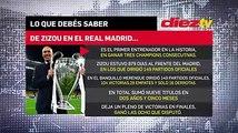DATOS, no opiniones. ¿Extrañará el #RealMadrid a Zidane?