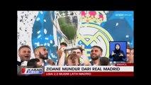 Mundurnya Zidane, Ada Hubungan Dengan Ramos & Salah?