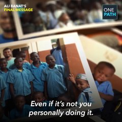 Ali Banat's Final Message - MUST WATCH