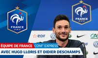 """Conf' Express"" avec Hugo Lloris et Didier Deschamps"