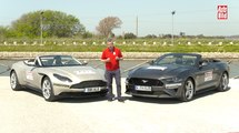 VÍDEO: Aston Martin DB11 Volante VS Ford Mustang Convertible