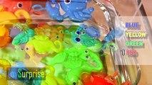 Colores en inglés para niños. Aprendemos con animales de juguete y de colores