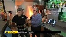 On fête la cuisine avec Patrick Smith, Jérémy et Jean-Paul dans un restaurant du Tampon. Envie de vous faciliter la vie ? Commandez en ligne vos plats cuisinés.