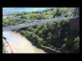 Daredevils Base Jump Off Clifton Suspension Bridge