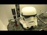 Scotland's biggest Star Wars fan builds a Star Wars themed bathroom