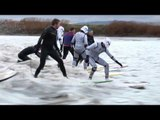 Storm Troopers surf Severn bore to celebrate new movie that was filmed nearby