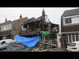 Couple found dead in house that collapsed following explosion