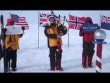 Scot becomes first to play BAGPIPES at South Pole