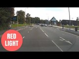 Shocking Footage Shows Police Officer Running A Red Light