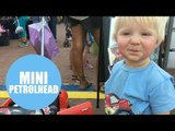Toddler can identify 50 different types of car