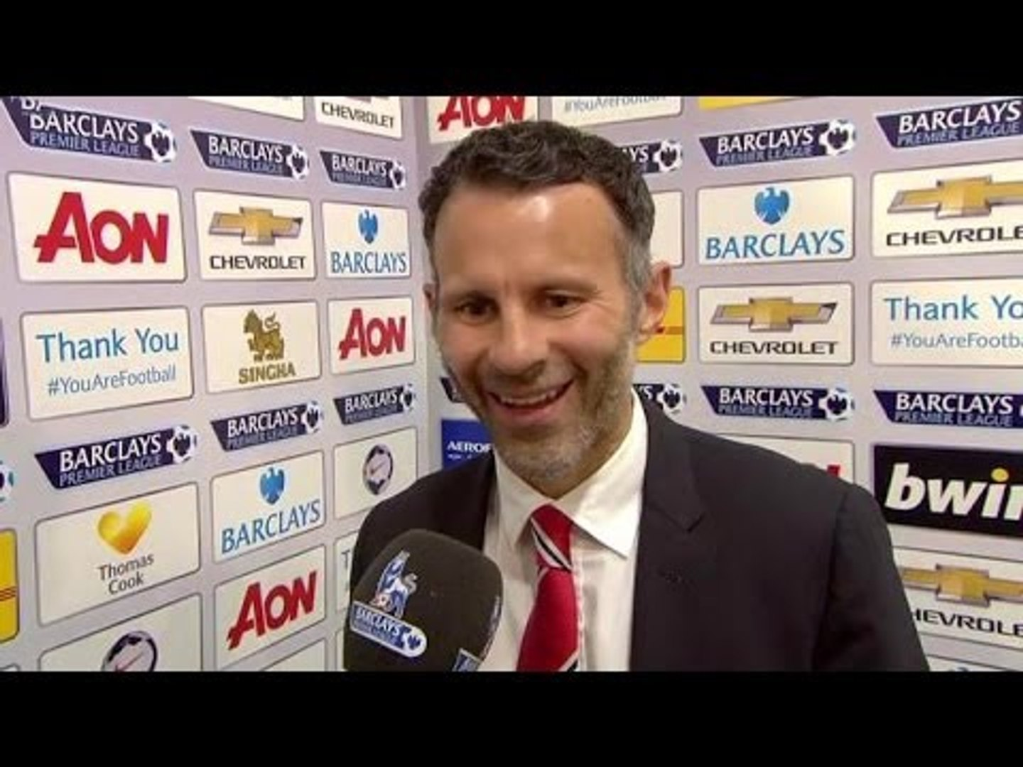 Manchester United 3-1 Hull City - Ryan Giggs Post Match Interview - Happy With Exciting United