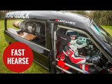 Man builds jet powered hearse in Plymouth