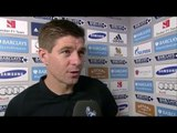 Chelsea 1-1 Liverpool - Steven Gerrard Post Match Interview - On Liverpool Return In 2 Years