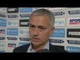 Newcastle 2-2 Chelsea - Jose Mourinho Post Match Interview - First-Half Display Baffles Mourinho