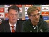 Liverpool vs Man Utd - Louis van Gaal, Jurgen Klopp, Adam Lallana & Chris Smalling On Great Rivalry