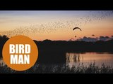 Paragliding world champion lives out dream to fly among birds