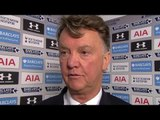 Tottenham 3-0 Man Utd - Louis van Gaal Post Match Interview - Blames Miscommunication B/w Defenders