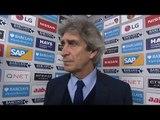 Manchester City 1-3 Leicester - Manuel Pellegrini Post Match Interview