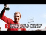 Five Sporting Events To Happen Since England Won The 1966 World Cup