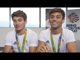 Interview With Team GB's Tom Daley & Dan Goodfellow