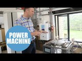 Green-fingered dad invents washing machine-sized incinerator