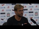 Press Conference With Liverpool Manager Jurgen Klopp - Arsenal v Liverpool