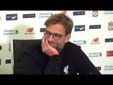 Jurgen Klopp Full Pre-Match Press Conference - Manchester United v Liverpool