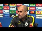 Pep Guardiola Full Pre-Match Press Conference - Manchester City v Monaco - Champions League