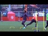 Marouane Fellaini Left Confused In Manchester United Training