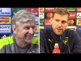 Arsene Wenger & Per Mertesacker Full Pre-Match Press Conference - Arsenal v Bayern Munich
