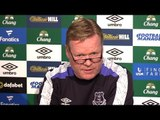 Ronald Koeman Full Pre-Match Press Conference - Liverpool v Everton - Merseyside Derby
