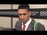 Chris Smalling Interview - Europa League Final - Glad To Seal Champions League Return