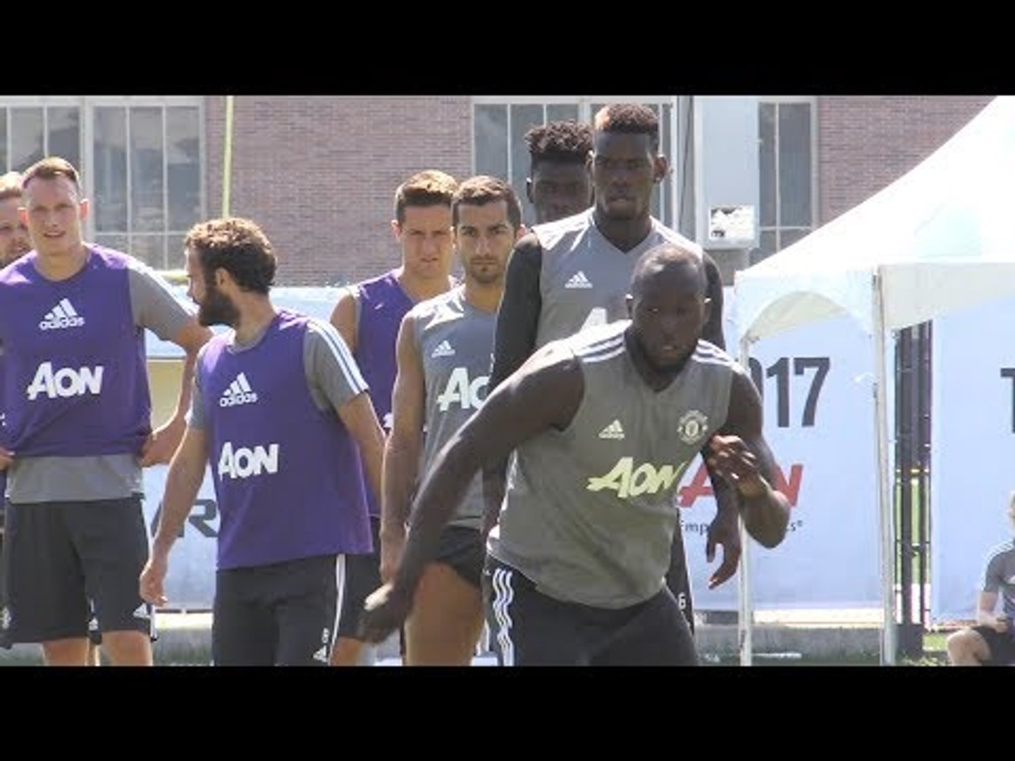 Manchester United Train Ahead Of LA Galaxy Match - Manchester United Tour 2017