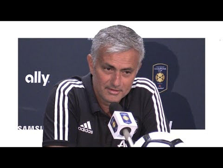 Barcelona 1-0 Manchester United - Jose Mourinho Post Match Press Conference - Man United Tour 2017