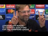 Jurgen Klopp - 'Liverpool's Champions League Qualification Is Reward For Hard Work'