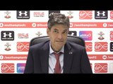 Southampton 0-1 Manchester United - Mauricio Pellegrino Post Match Press Conference - Premier League