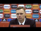 Lithuania 0-1 England - Edgaras Jankauskas Full Post Match Press Conference - World Cup Qualifying