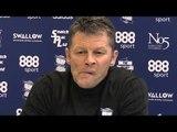 Steve Cotterill Pre-Match Press Conference - Millwall v Birmingham - Championship