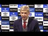 Everton 2-5 Arsenal - Arsene Wenger Full Post Match Press Conference - Premier League