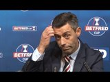 Motherwell 2-0 Rangers - Pedro Caixinha Full Post Match Press Conference - Betfred Cup