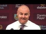 Burnley 0-3 Tottenham - Sean Dyche Post Match Press Conference - Premier League #BURTOT