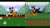 Console Wars - Mickey Mania - Super Nintendo vs Sega Genesis