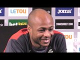 Andre Ayew Press Conference - On His Return To Swansea City