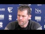 Steve Cotterill Pre-Match Press Conference - Birmingham v Huddersfield - FA Cup Replay