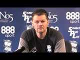 Steve Cotterill Pre-Match Press Conference - Aston Villa v Birmingham - Championship